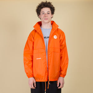 Orange Windbreaker Jacket