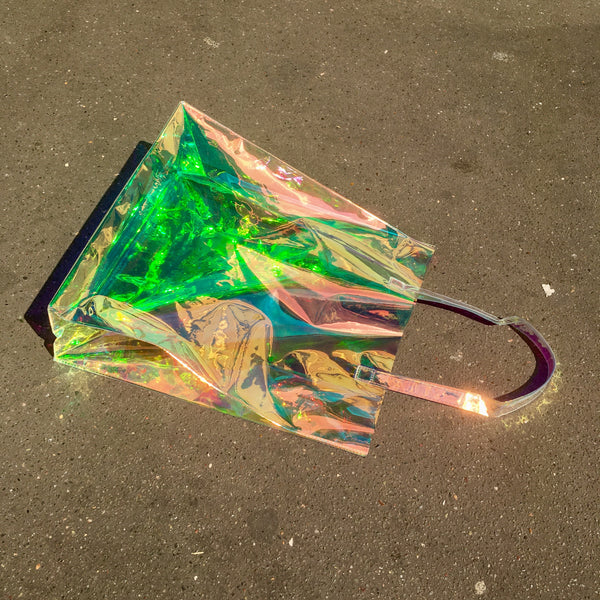 MELANGE Iridescent Tote Bag
