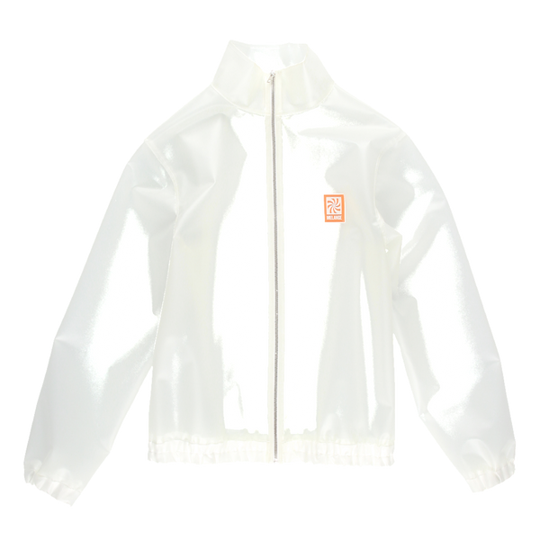 MELANGE Transparent PVC Track Jacket
