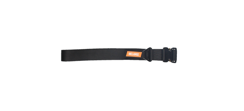 MELANGE Black Tactical Belt