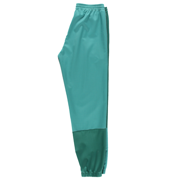 Green Fine Wool Joggers Pants
