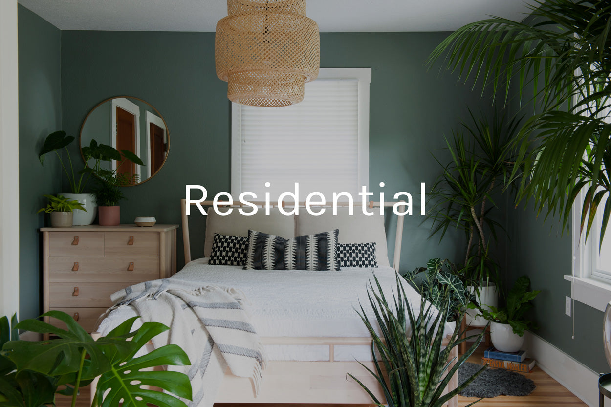 residential plant styling