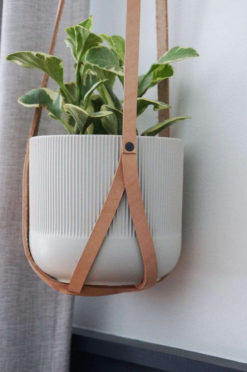 Leather Plant Hangers