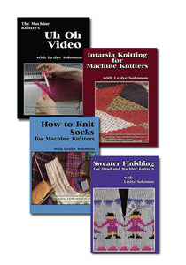 Instructional Machine Knitting DVD's