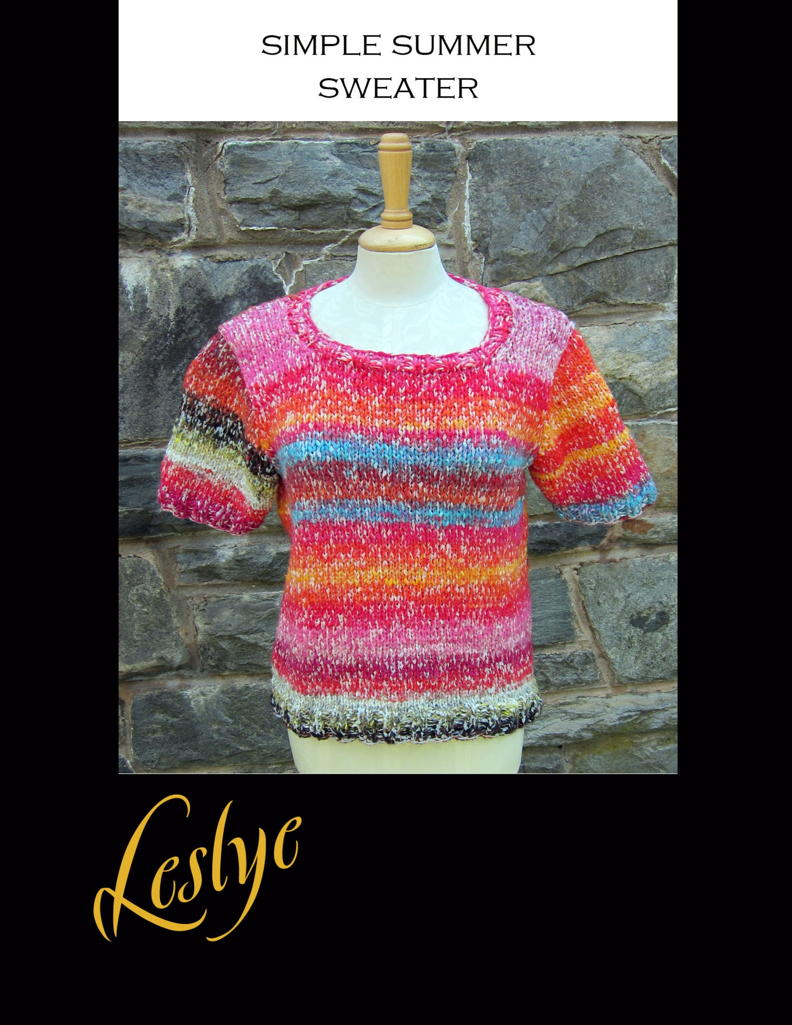 Simple Summer T Sweater Pattern