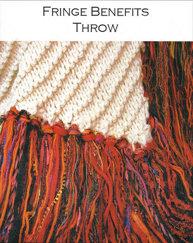 Fringe Benefits Throw