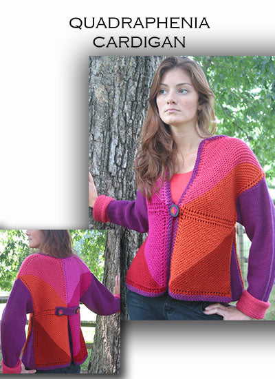 Quadraphenia Cardigan by Leslye Solomon - Digital Download