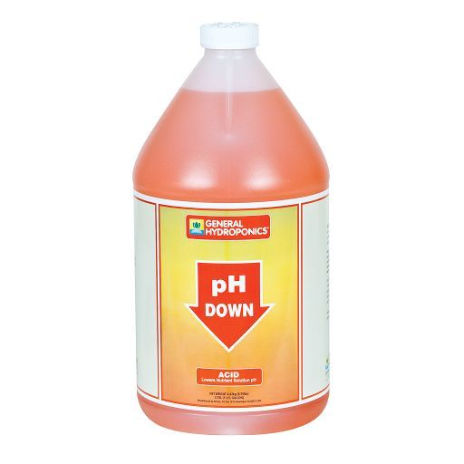 General Hydroponics pH Down Gallon