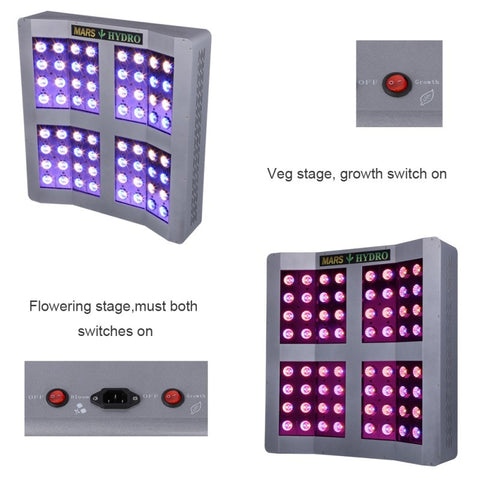 Mars Hydro MarsPro 2 Cree 256 LED Grow Light