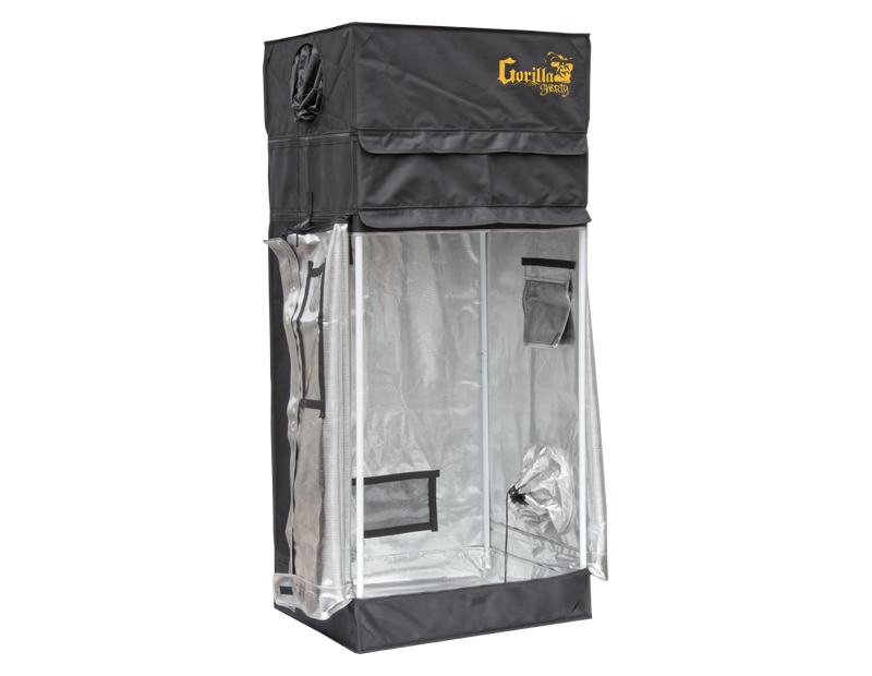 Gorilla Grow Tent 2x2.5 Shorty  sc 1 st  MJ Richards Grow Supply & 2x2.5 SHORT Gorilla Grow Tent | MJ Richards Grow Supply | MJ ...