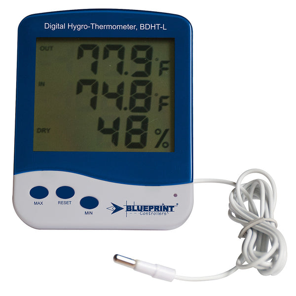 Blueprint Controllers Digital Thermometer & Hygrometer