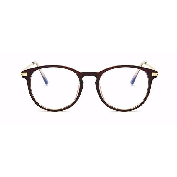 LEON - Marron - lunettes anti lumiere bleue - blue ray glasses - KOZZI.fr