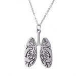 Lungs Choker Pendant Necklace - Free Shipping