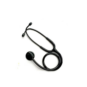Professional Single Head Stethoscope - Black - Free Shipping