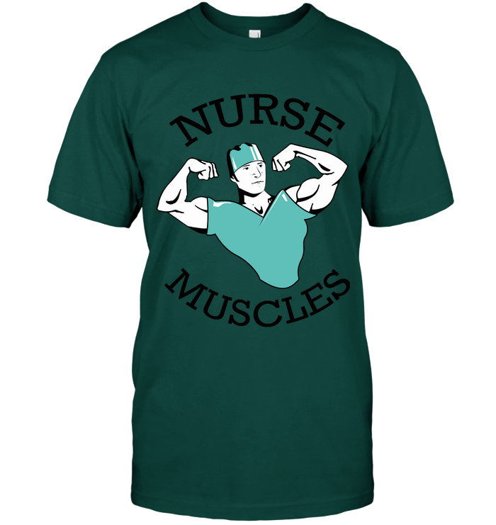 Nurse Muscles Unisex T-Shirt