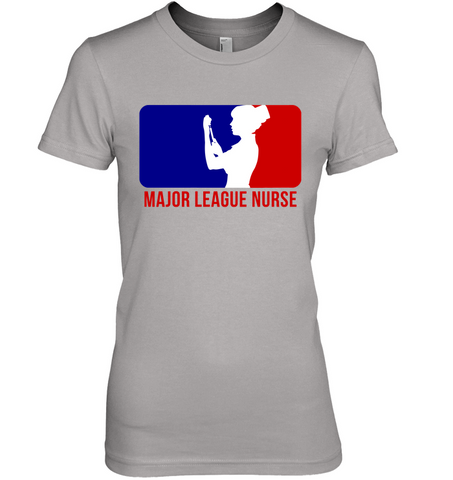 Major League Nurse Female Logo 2 - Women's T-Shirt
