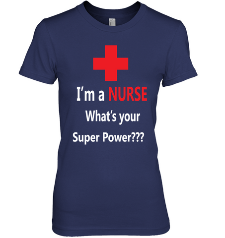 Super Power Nurse Women's T-Shirt