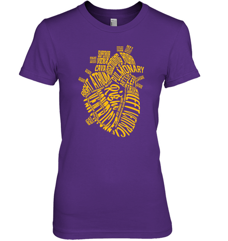 Anatomically Correct Heart Women's T-Shirt