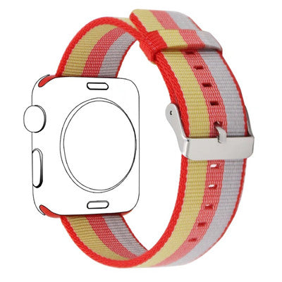 Cool Woven Nylon Watch Band For Apple Watch Series 1, 2 -     38mm & 42mm - Free Shipping