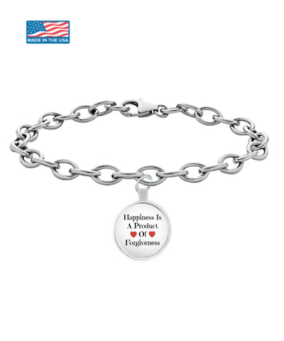 Image of Bracelet - Happiness Is A Product Of Forgiveness Bracelet