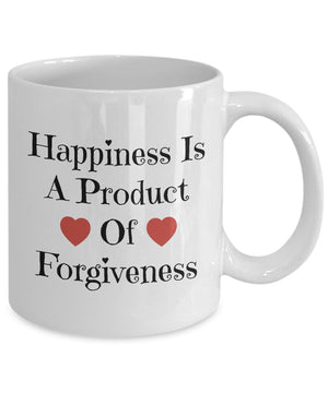 Happiness Is A Product Of Forgiveness Coffee Mug