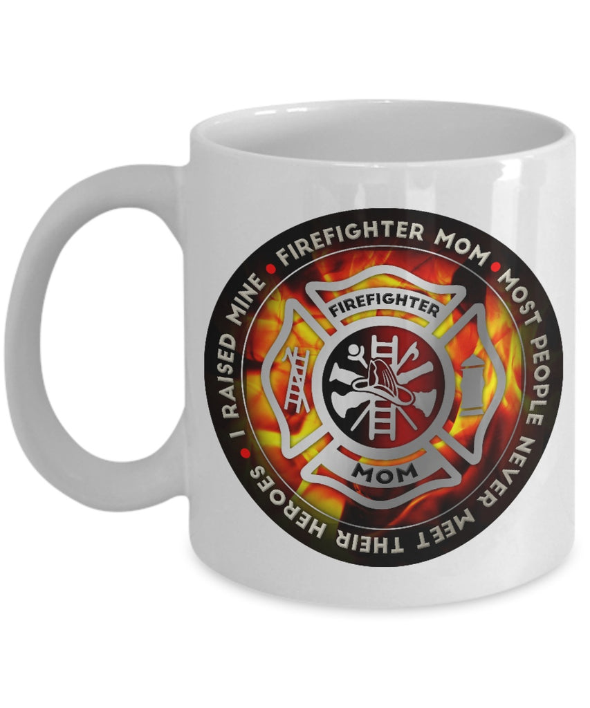 Coffee Mug - Proud Firefighter Mom Coffee Mug