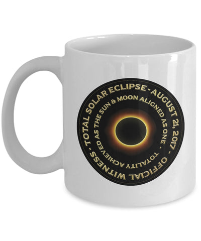 Image of Coffee Mug - Total Solar Eclipse Coffee Mug