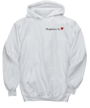 Happiness Is A Product of Forgiveness Hoodies