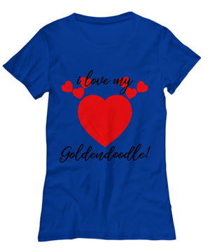 Shirt / Hoodie - I Love My Goldendoodle T-Shirts