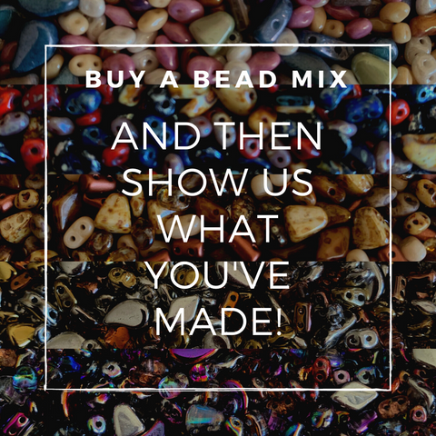 Buy a bead mix and then show us what you've made!