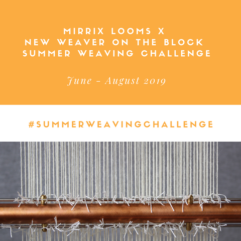 summer weaving challenge