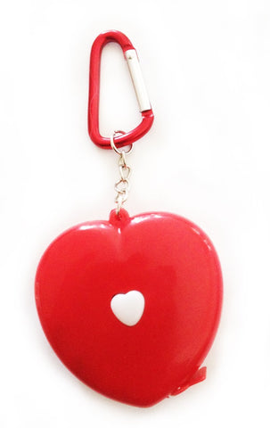 heart measuring tape