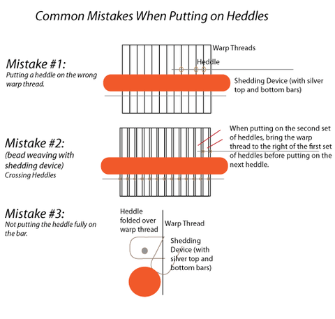heddles mistakes