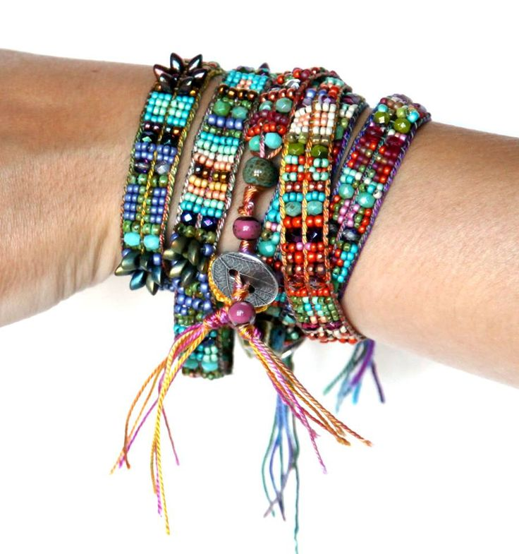 Crystal & Bead Wrap Bracelet Kit