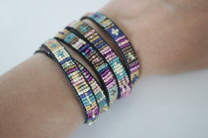The Whitney and Willa Wrap Bracelet Kit - Weave-Along 26