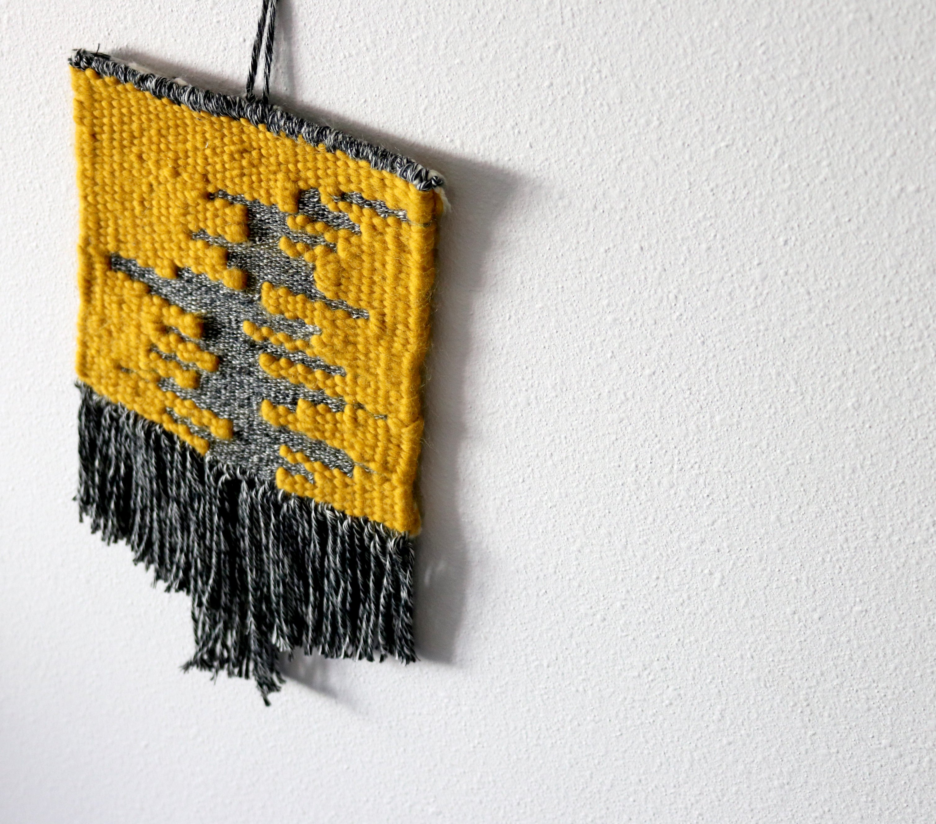 Texture & Sett Wall-Hanging Weaving Kit