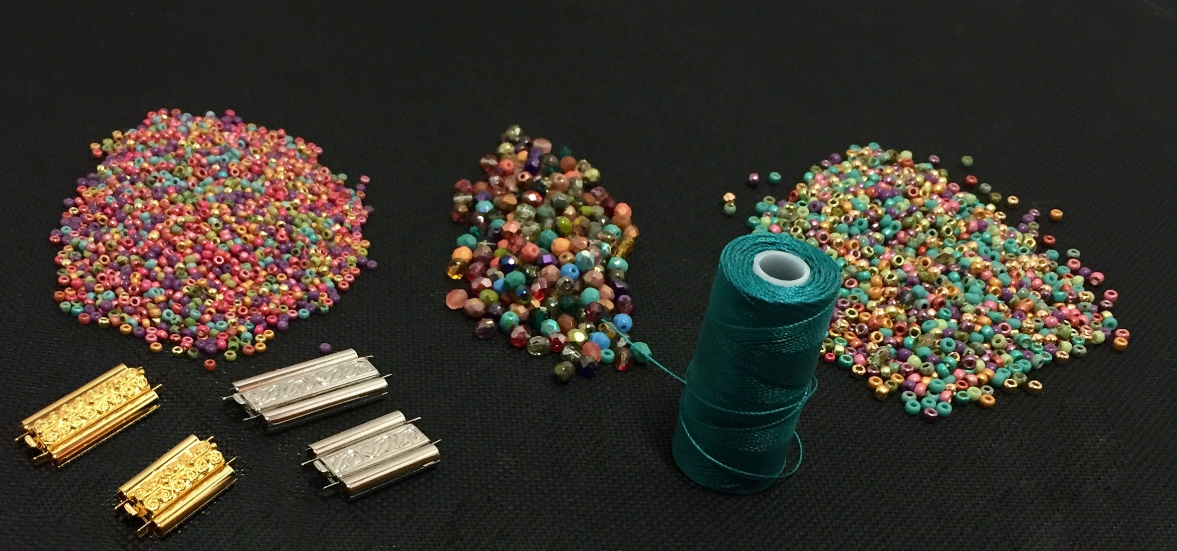 The Rosalie Bracelet: The Kit for Mirrix's 25th Weave-Along