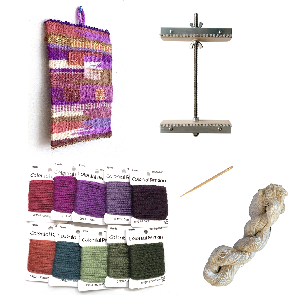 Stay Home and Weave Kit & Loom Package