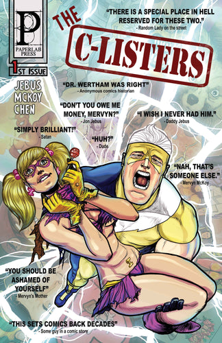 C-LISTERS #1 [Digital Comic]