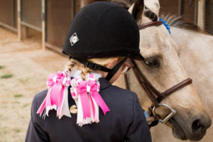 Who needs to wear Hair Bows for Horse Shows?