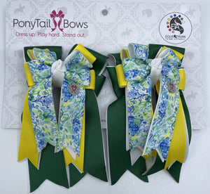 "PonyTail Bows 3"" Tails Esther PonyTail Bows equestrian team apparel online tack store mobile tack store custom farm apparel custom show stable clothing equestrian lifestyle horse show clothing riding clothes PonyTail Bows 