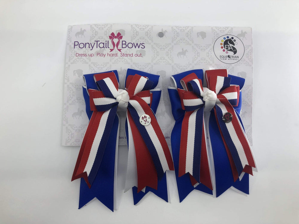 USA PonyTail Bows