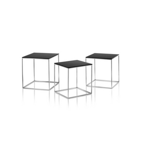 Reproduction of PK71 Nest of 3 Side Tables