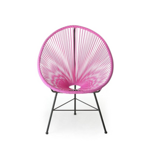 Reproduction of Acapulco Chair - Fuchsia