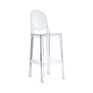 Reproduction of Philippe Starck Ghost Chair Counter Stool