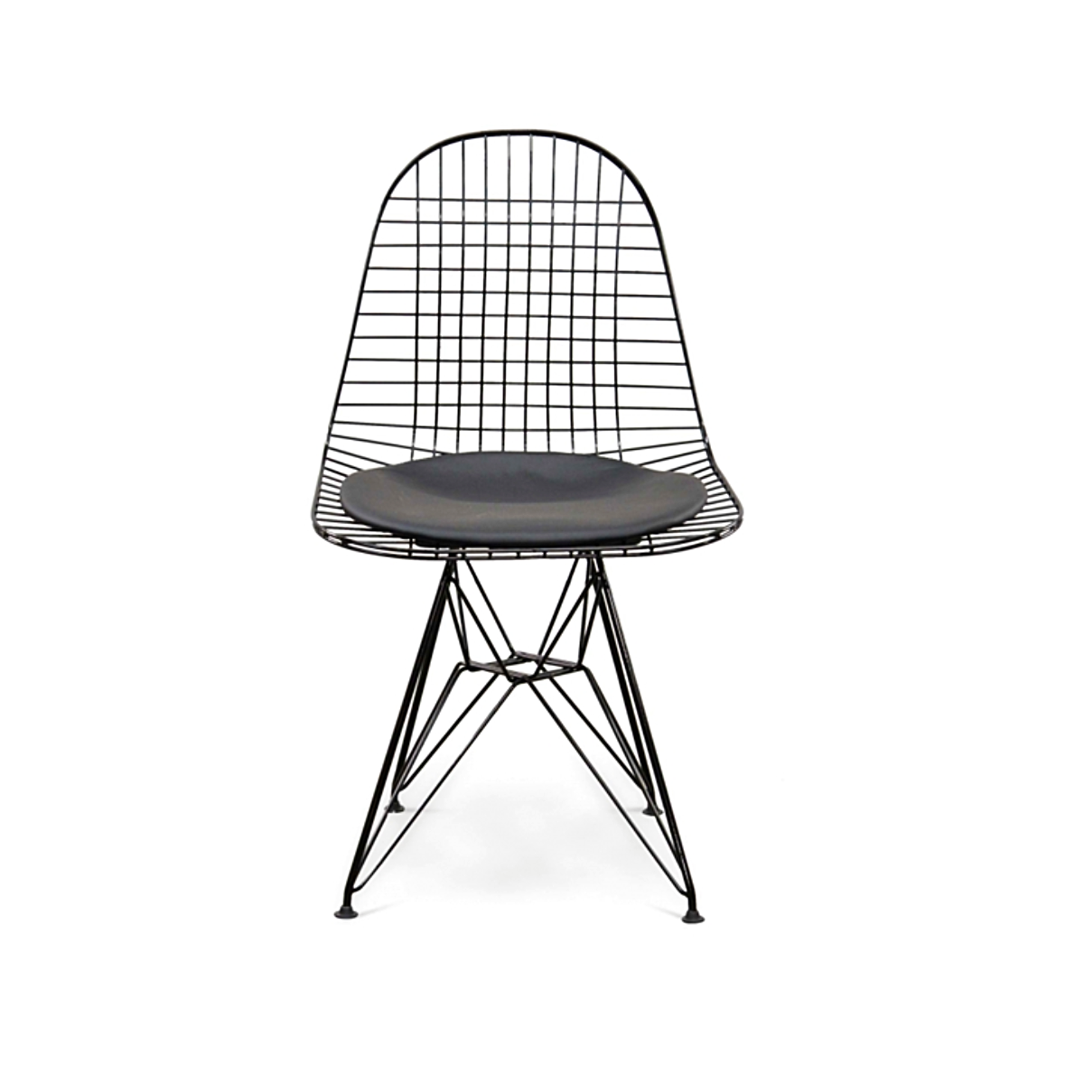 Reproduction of DKR Eiffel Black Wire Chair – TORONTO MODERN FURNITURE