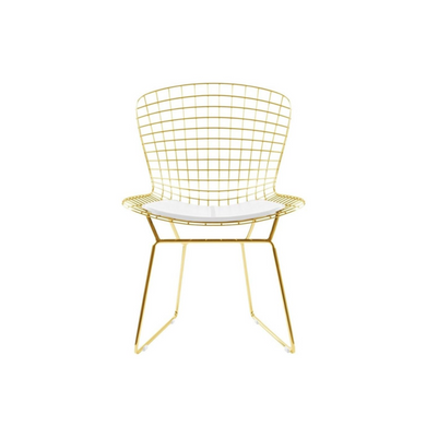 Reproduction of Harry Bertoia Gold Wire Chair