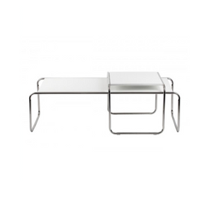 Reproduction of Marcel Breuer Laccio Table