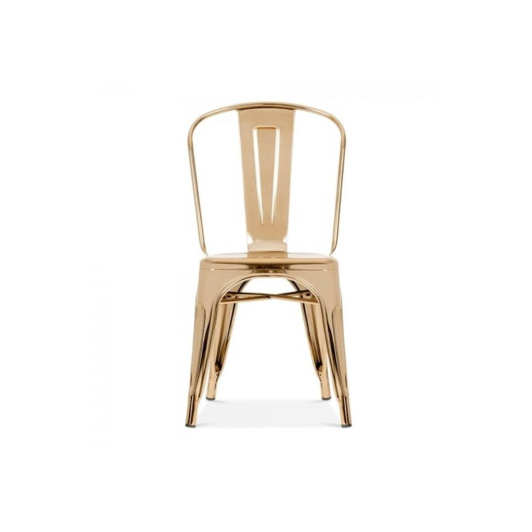 Reproduction of Xavier Pauchard Tolix Style Dining Chair