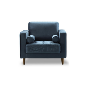 Bente Tufted Velvet Lounge Chair